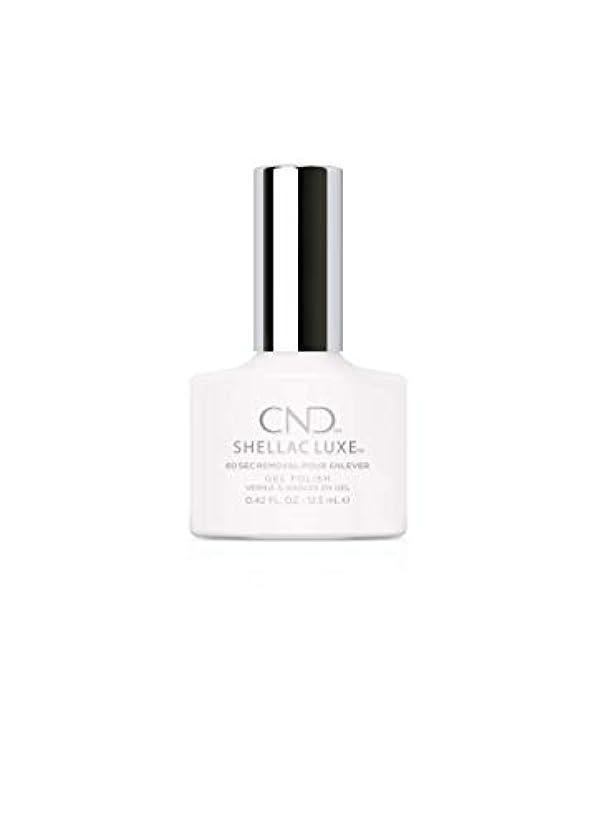観光同僚禁輸CND Shellac Luxe - Cream Puff - 12.5 ml / 0.42 oz
