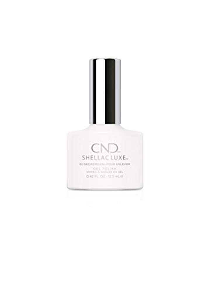 基礎理論の間に捨てるCND Shellac Luxe - Cream Puff - 12.5 ml / 0.42 oz