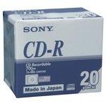SONY 20CDQ80DNA データ用CD-R 20枚パッ