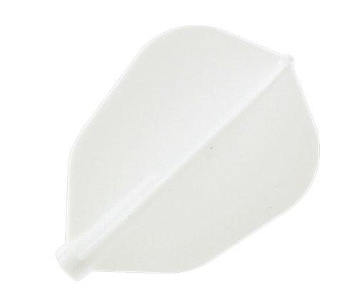 COSMO DARTS ダーツフライト【フィットフライト】スーパーシェイプ ホワイト 3枚入り