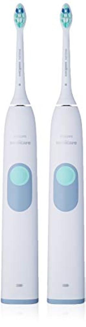 リビングルーム範囲不運Philips Sonicare きれいにし、マッサージのために2シリーズ充電式歯ブラシバンドル(2つのQuadpacerハンドル+ 3つのブラシヘッド(2 Proresultsプラークコントロール+ 1 Diamondclean...