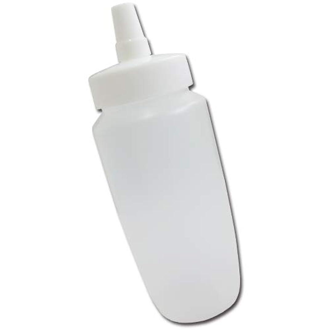雨わずかにバドミントンはちみつ容器360ml(ホワイトキャップ)│業務用ローションや調味料の小分けに詰め替え用ハチミツ容器(蜂蜜容器)はちみつボトル