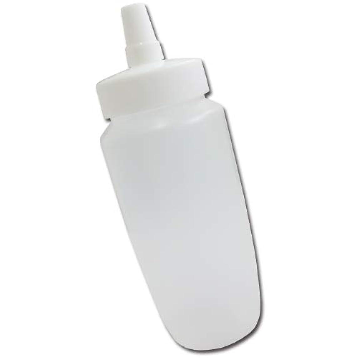 指標ビット雇用はちみつ容器360ml(ホワイトキャップ)│業務用ローションや調味料の小分けに詰め替え用ハチミツ容器(蜂蜜容器)はちみつボトル