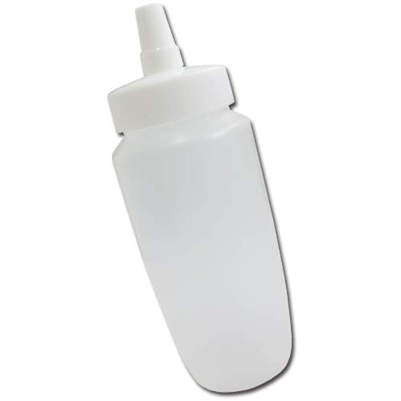 フライカイトいっぱいバンクはちみつ容器360ml(ホワイトキャップ)│業務用ローションや調味料の小分けに詰め替え用ハチミツ容器(蜂蜜容器)はちみつボトル