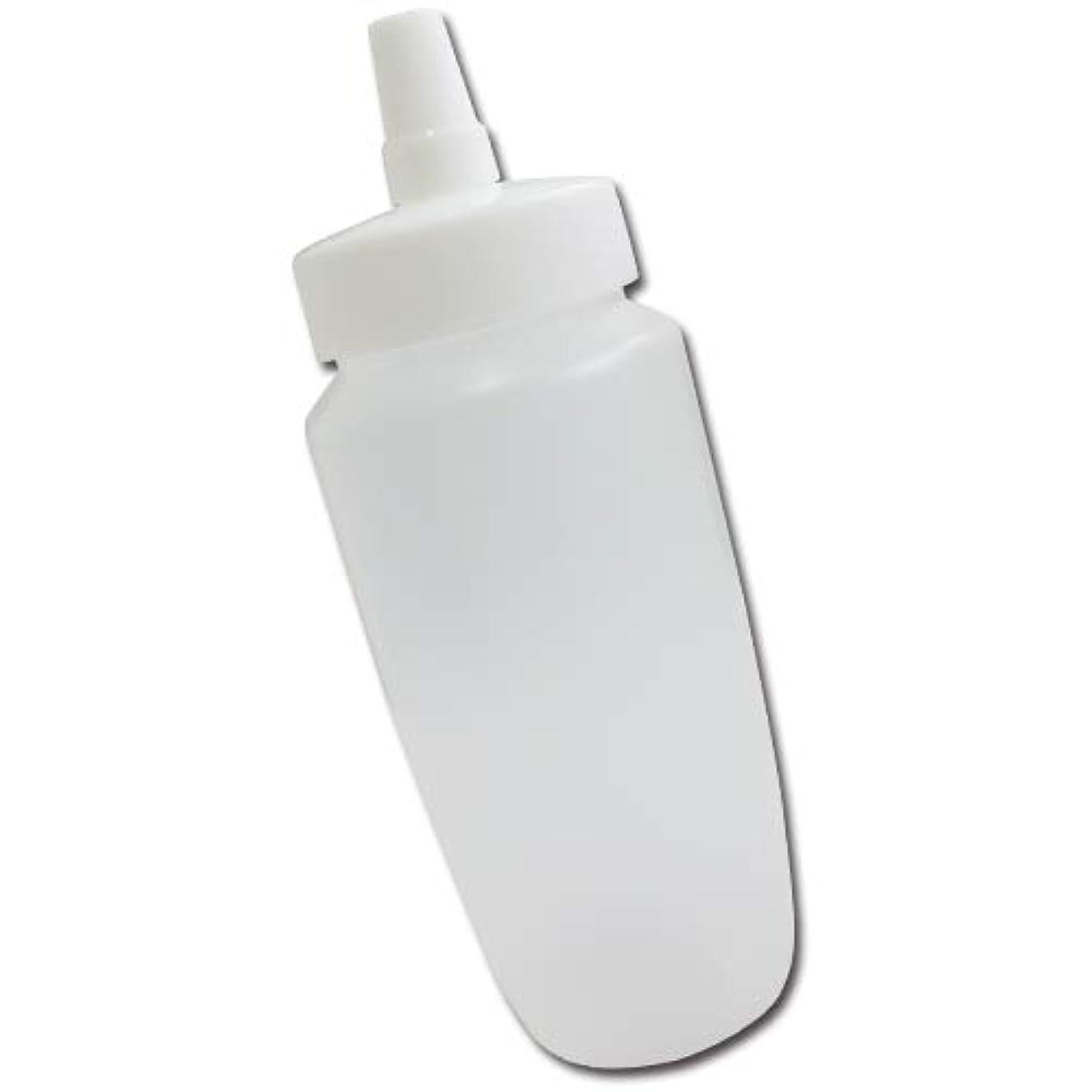 第三うがい睡眠はちみつ容器360ml(ホワイトキャップ)│業務用ローションや調味料の小分けに詰め替え用ハチミツ容器(蜂蜜容器)はちみつボトル