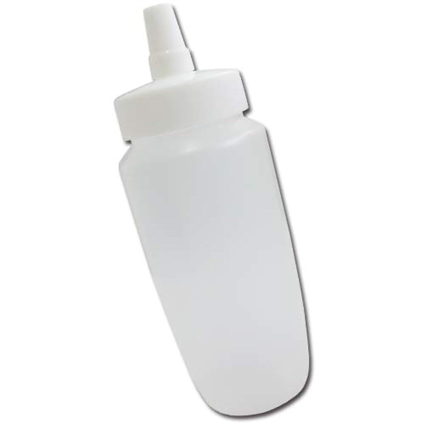 軍隊災難下線はちみつ容器360ml(ホワイトキャップ)│業務用ローションや調味料の小分けに詰め替え用ハチミツ容器(蜂蜜容器)はちみつボトル