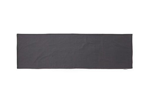 透けにくい厚生地仕様の無地抱き枕カバー サイドファスナータイプ 被せやすい横ファスナータイプのだき枕カバー (150cm x 50cm タイプ, グレー)