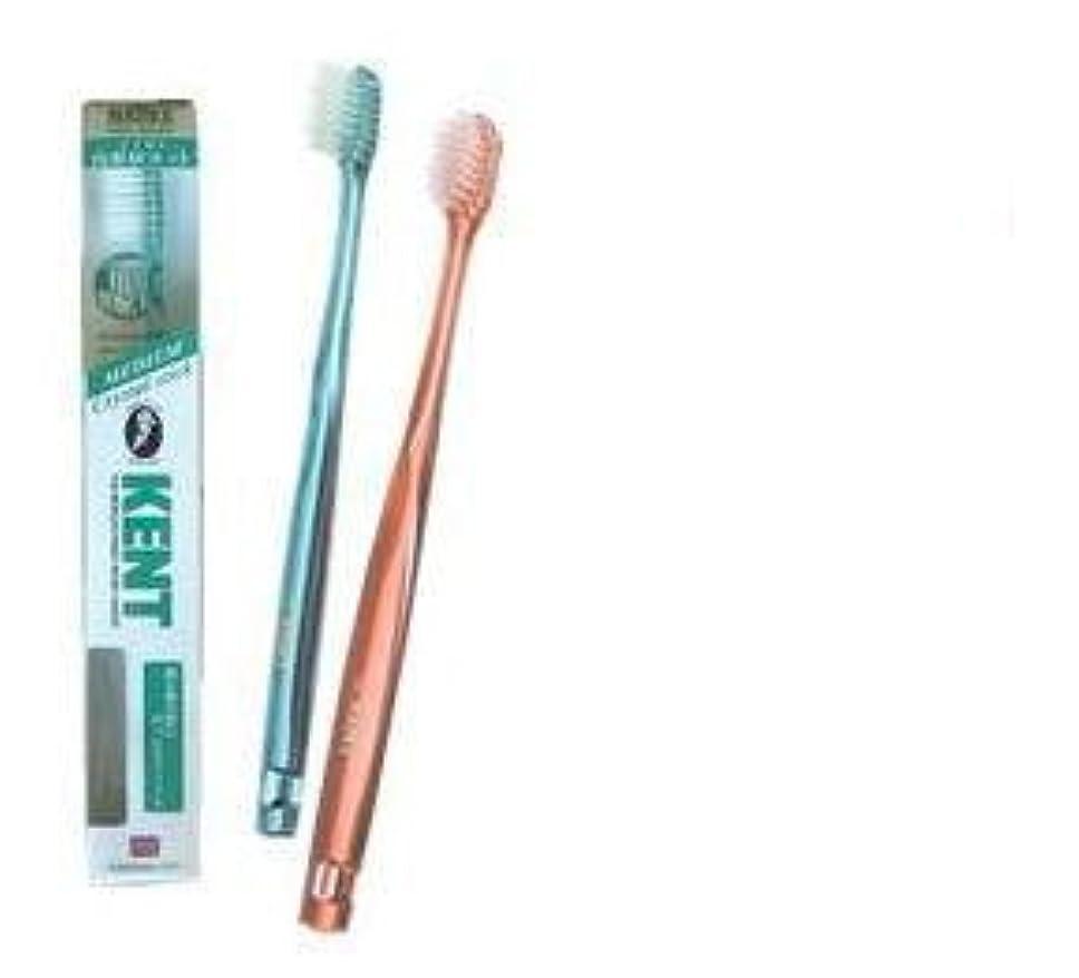 構成する適応ビジターKENT(ケント) クリスタルスティック ナイロン歯ブラシ コンパクトヘッド ふつう KNT9230