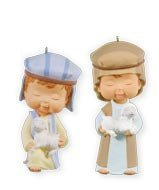 Hallmark Ornaments QXC5019 Mary's Angel's Seeking The King Club Exclusive [並行輸入品]