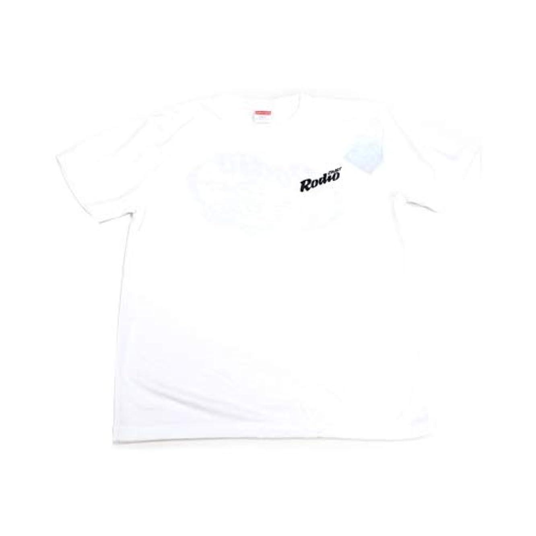 用心浅い学生Rodiocraft(ロデオクラフト) 6.5オンス Tシャツ ホワイト/ブラック L