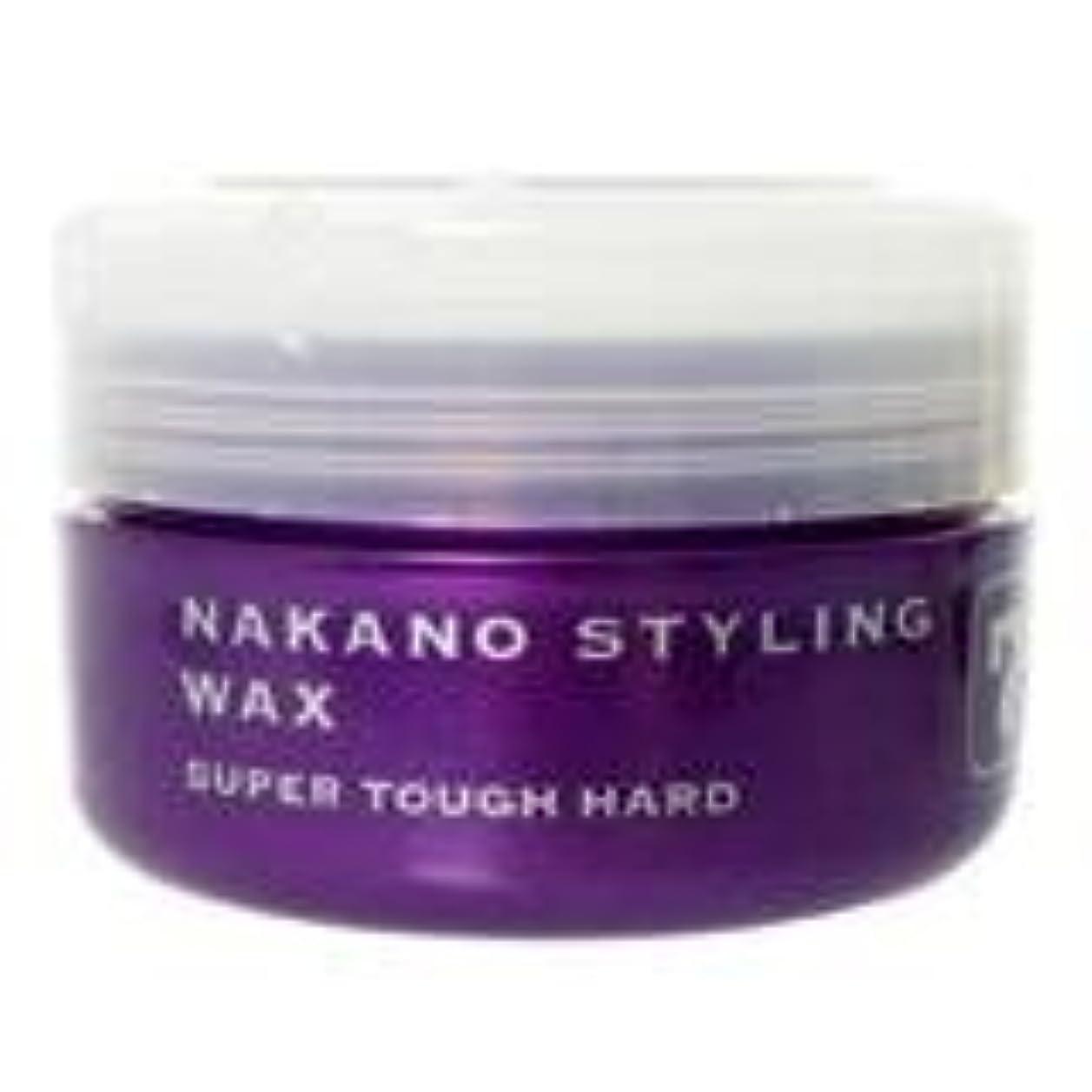 乱す現像原告ナカノ スタイリングワックス 7 スーパータフハード 90g 中野製薬 NAKANO
