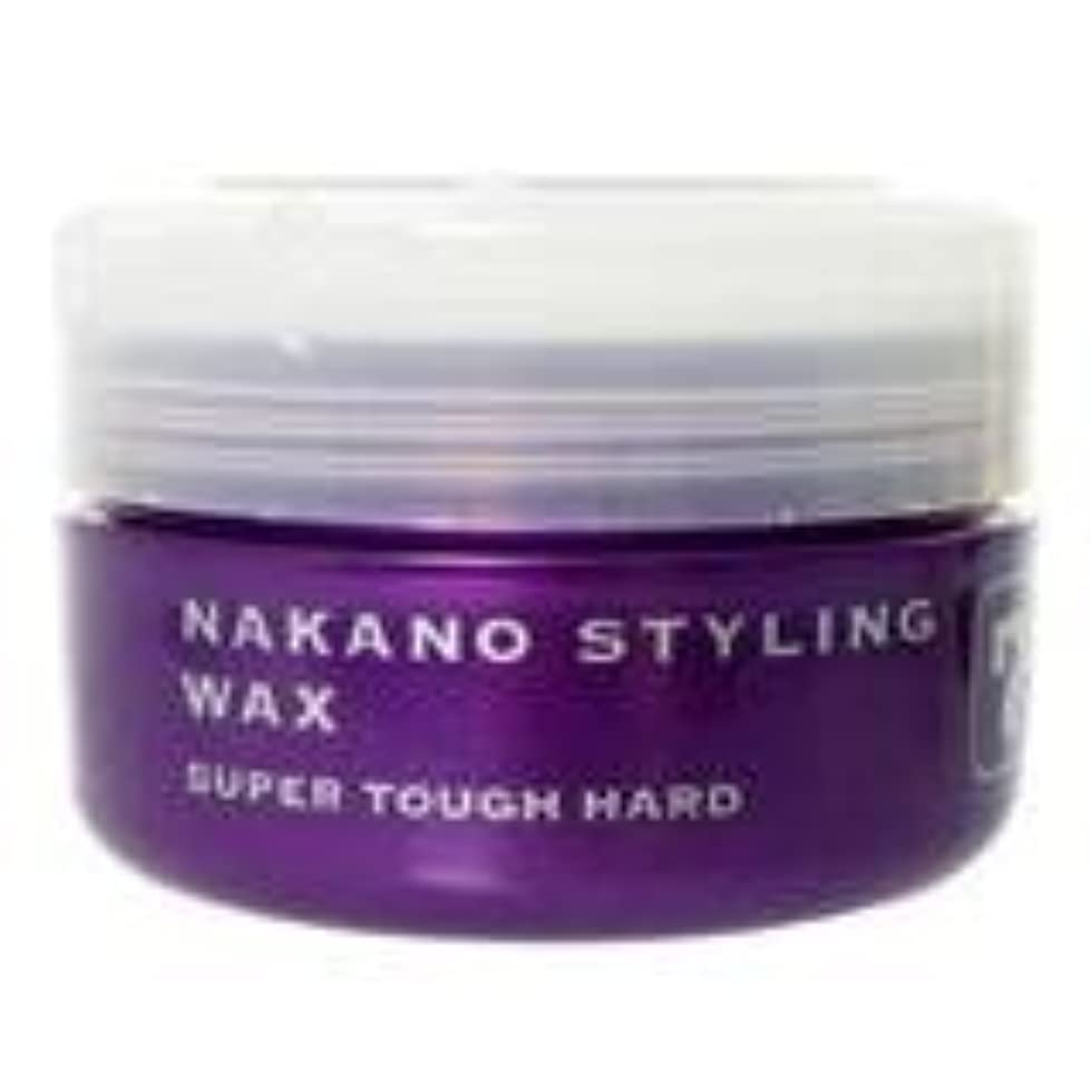 うまくいけば撤回する頬骨ナカノ スタイリングワックス 7 スーパータフハード 90g 中野製薬 NAKANO