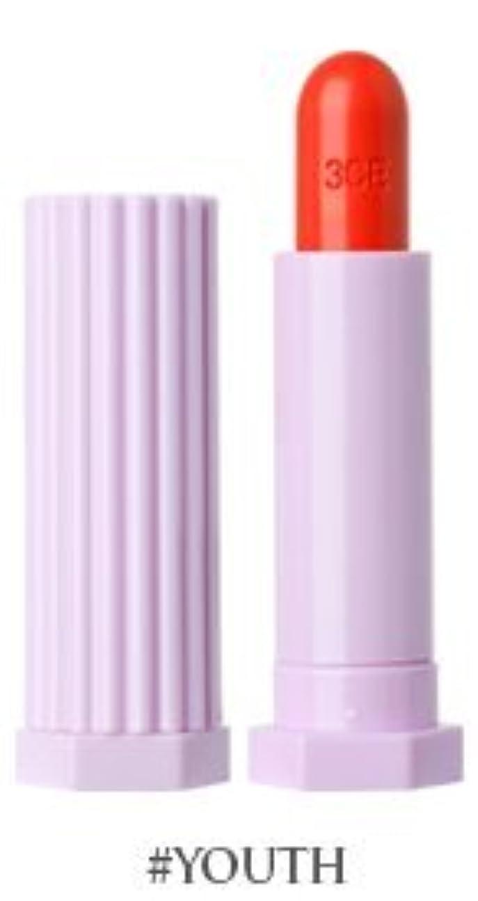 しおれた視力テーブル3CE ラブベルベットリップスティック / 3CE Love Velvet Lip Stick (#ユース) [並行輸入品]