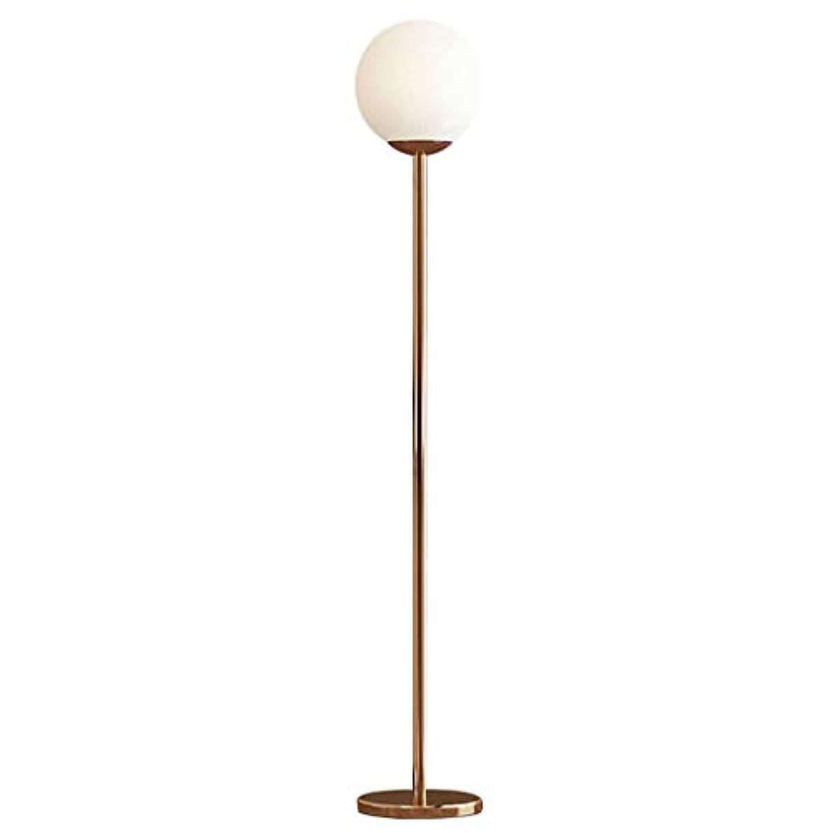 研究重なるポットフロアランプ フロアランプボール現代のミニマリストのガラス玉直立はランプ北欧の装飾ベッドルームベッドサイドリビングルームのソファスタンド 垂直フロアランプ