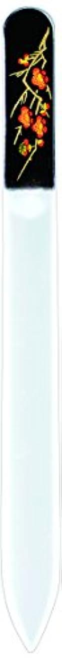 サイドボード預言者アパート橋本漆芸 ブラジェク製高級爪ヤスリ 二月 梅 紙箱