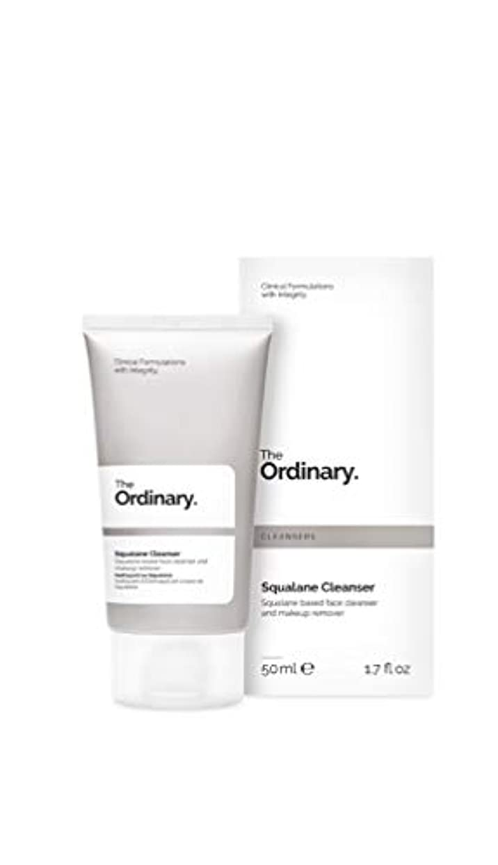 基準おしゃれじゃない有名The Ordinary☆Squalane Cleanser 50ml ジ オーディナリー 洗顔(バームがオイルに変化) [並行輸入品]