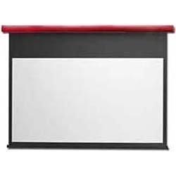 キクチ 電動式スクリーン Stylist-ES120インチ 16 9 ホワイトマットアドバンスキュアイタリアンレッドKIKUCHI SES-120HDWAC/R