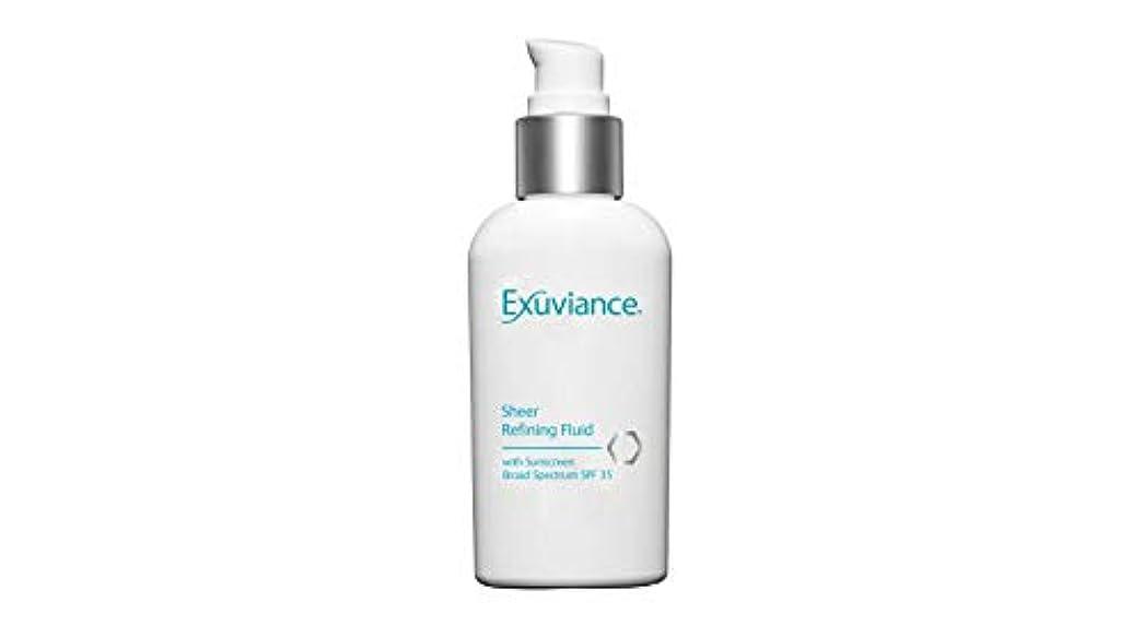 適応的干渉する比率Sheer Refining Fluid SPF 35 (For Oily/ Acne Prone Skin)[並行輸入品]