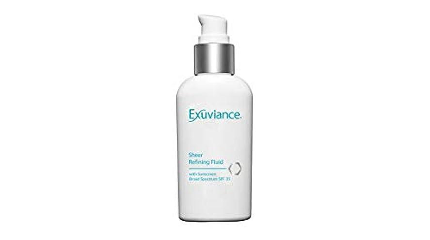 許す予備神話Sheer Refining Fluid SPF 35 (For Oily/ Acne Prone Skin)[並行輸入品]