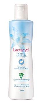 Lactacyd White Intimate (ラクタシード ホワイト インティメット)デリケートゾーン用洗浄剤 美白成分配合!!(250mL) マリンの香り☆即日配達商品