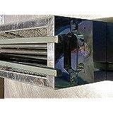 木炭コンロ、焼き物器シリーズTK514.W510xD140xH165、業務向きアマゾン仕様、備長炭500gx2付