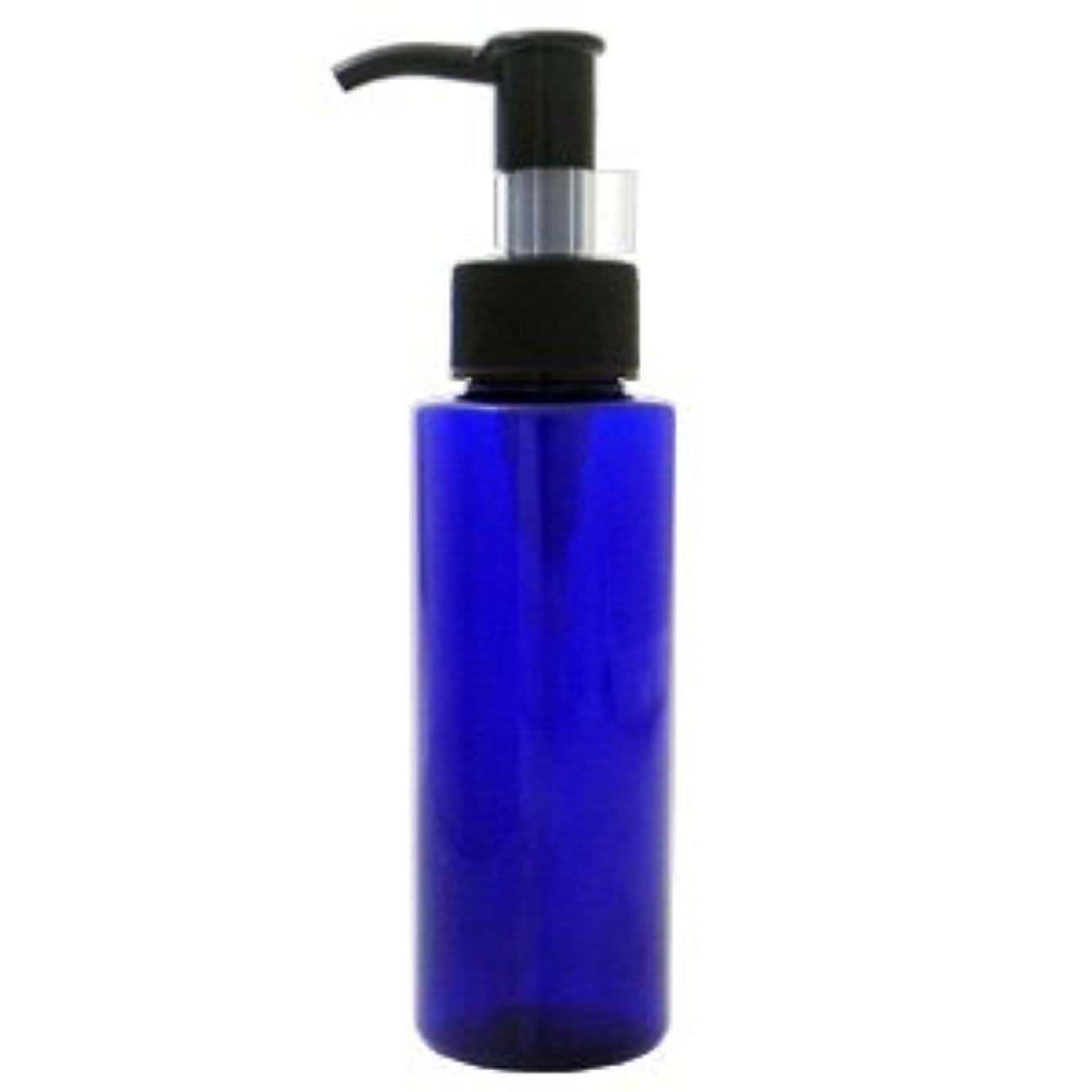 PETボトル ポンプ コバルトブルー (青) 100ml