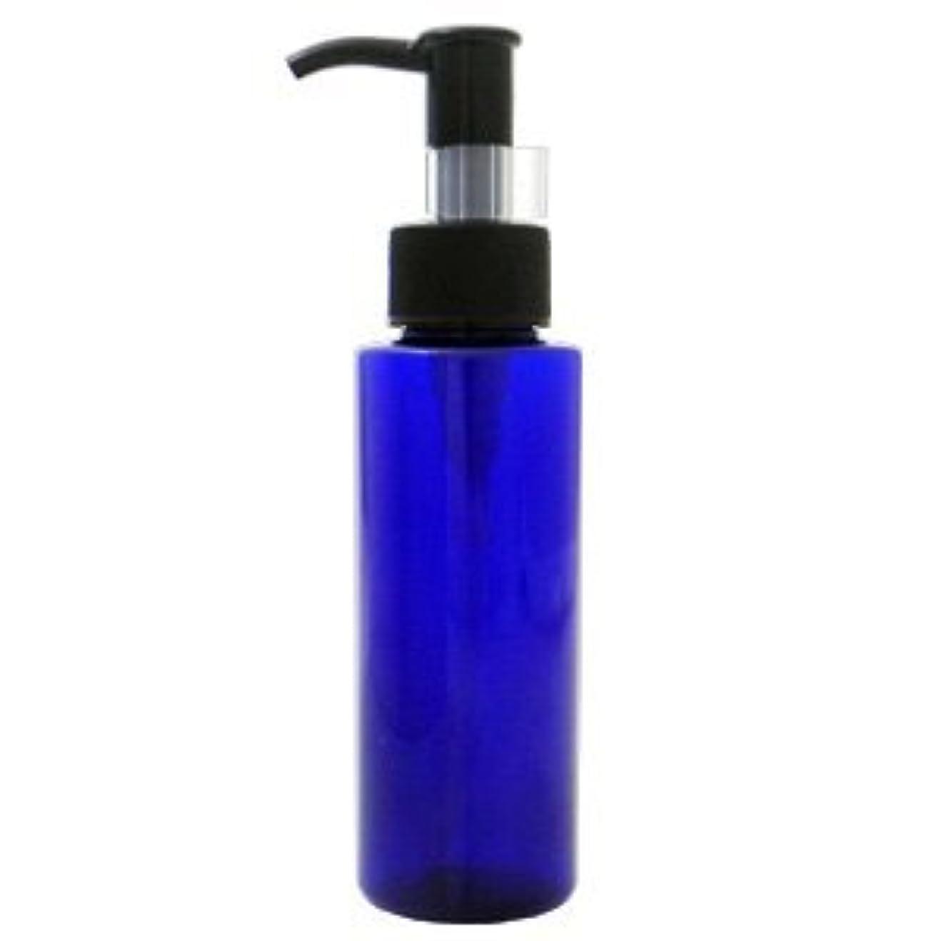 印象派たまに混乱PETボトル ポンプ コバルトブルー (青) 100ml