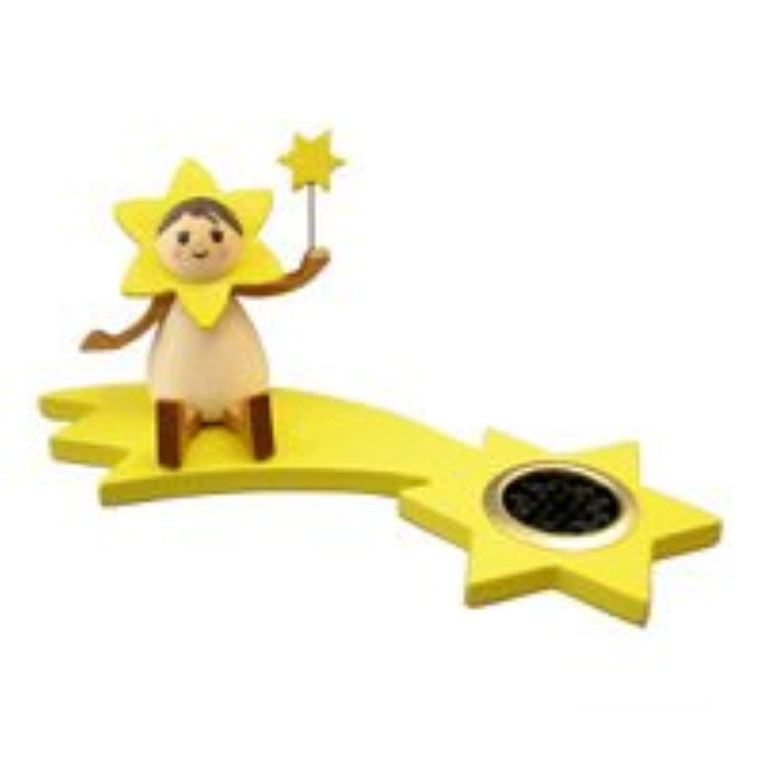 振動するカスケード連合クーネルト インセンススタンド(香皿) 星の妖精 スター(座り)