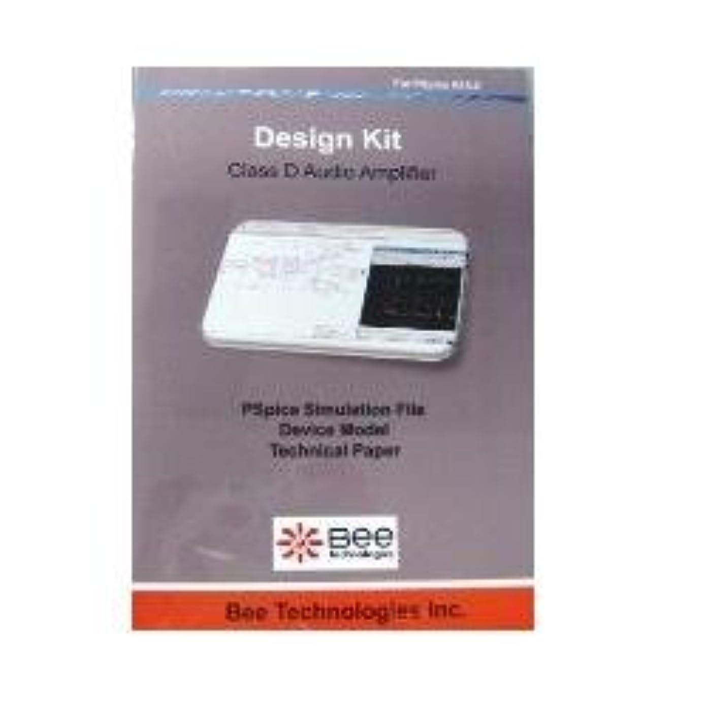 中間コンサートファッションBee Technologies SPICE デザインキット D級アンプ 【Design Kit 005】