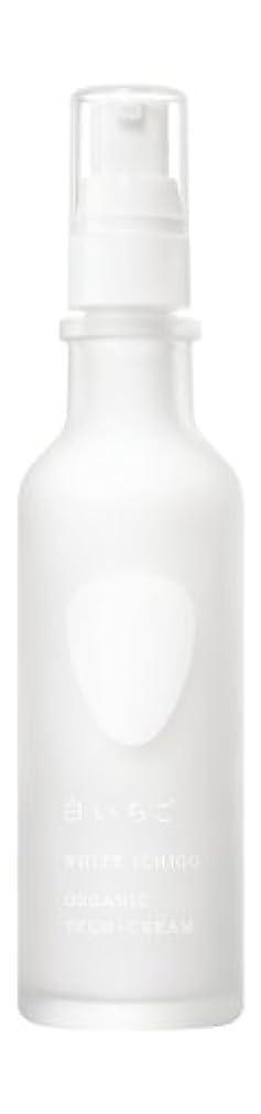 パット修正する重々しいWHITE ICHIGO(ホワイトイチゴ) オーガニック テック-クリーム 60g