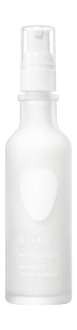 浜辺ポスター顕著WHITE ICHIGO(ホワイトイチゴ) オーガニック テック-クリーム 60g