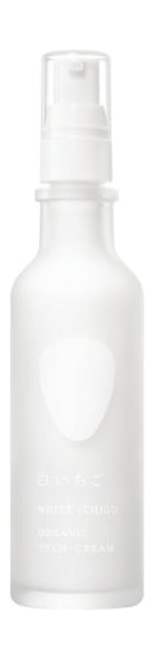 政治家もちろん絶縁するWHITE ICHIGO(ホワイトイチゴ) オーガニック テック-クリーム 60g
