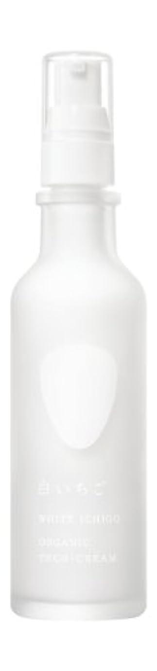 空葉を拾う角度WHITE ICHIGO(ホワイトイチゴ) オーガニック テック-クリーム 60g
