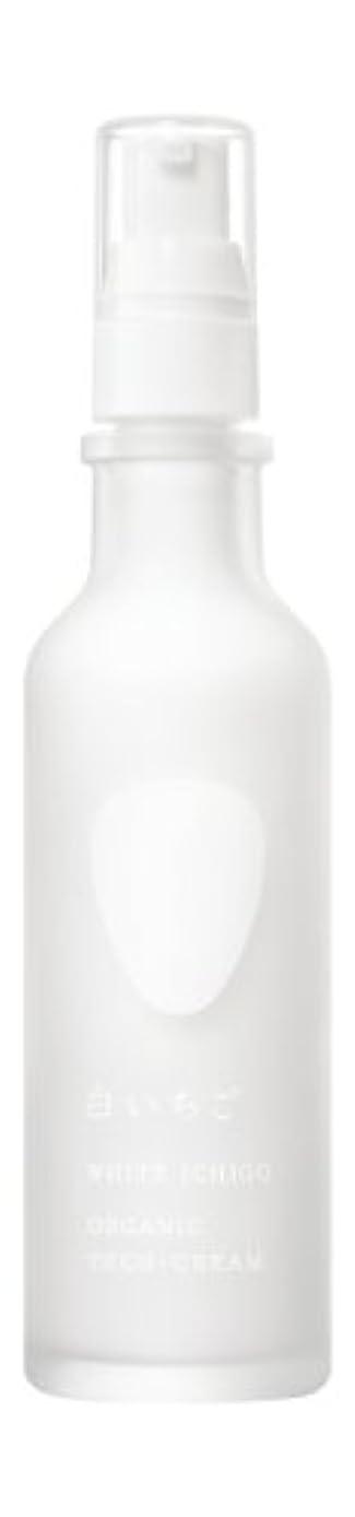 おしゃれじゃないスリラーループWHITE ICHIGO(ホワイトイチゴ) オーガニック テック-クリーム 60g