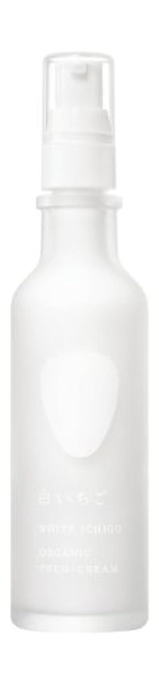 遠足強調する不快なWHITE ICHIGO(ホワイトイチゴ) オーガニック テック-クリーム 60g
