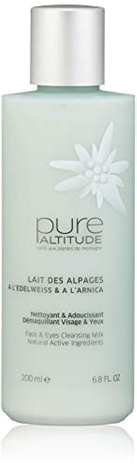 勤勉な硬化するライラックPure(ピュール) LAIT DES ALPAGES À L'EDELWEISS & À L'ARNICA 200ml クレンジング