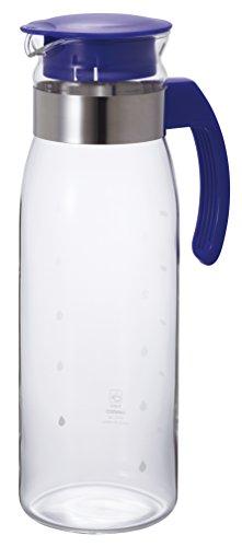 HARIO (ハリオ) 冷蔵庫ポット スリム 1.4L ブルー RPBN-14-NV