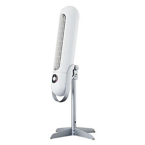 ドウシシャ 扇風機 エアスティック ピエリア スノーホワイト FTS-801D WH