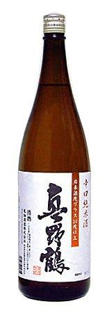 真野鶴 辛口純米酒 1800ml 尾畑酒造