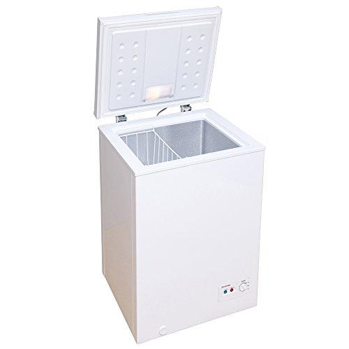 在庫処分特価 冷凍庫 家庭用 小型 業務用 ストッカー 上開き PF-A100TD-W 安い 肉 魚 野菜 冷凍食品 100L 7088062 アイリスオーヤマ