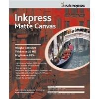 Inkpress acw851150Fineアートマットキャンバス350GSM 8.5で。X 11で。50シート