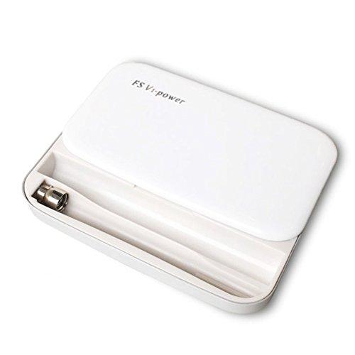 【MOKU】電子タバコ 充電器ケース(ホワイト)プルームテッ...