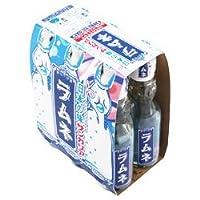 サンガリア 日本の味ラムネ (6本パック) 200ml瓶×30(6×5)本入×(2ケース)