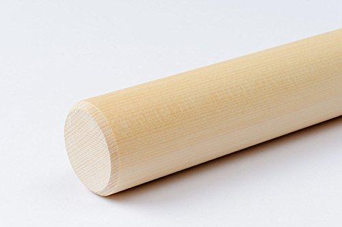 【日本製・職人手づくり】麺棒/めん棒/のし棒 φ28?30mm/ヒバ そば/蕎麦打ち道具 (径30mm, 900 ミリメートル)