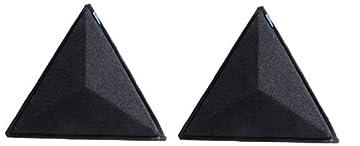 オーディオリプラス ルームチューニング材 ハーモニックディフューザー ブラック 2個1組 SFC-HD-BK2