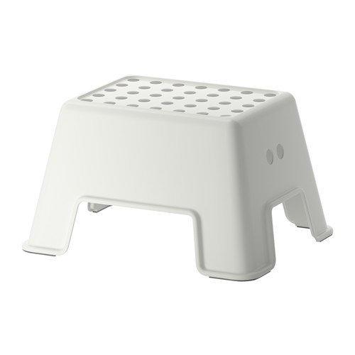 IKEA イケア BOLMEN  ステップスツール ホワイト 40265164