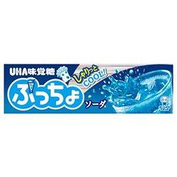 UHA味覚糖 ぷっちょスティック ソーダ 10粒×10個入×(2ケース)