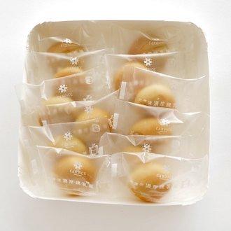 CANDICE(キャンディス) 北海道濃厚練乳菓 白(Haku) 12個入