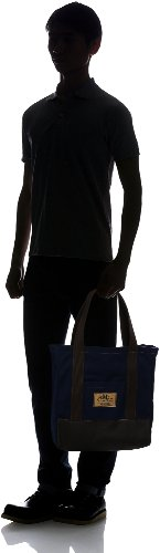 Carry All Bag with Zip M: Blue Marine