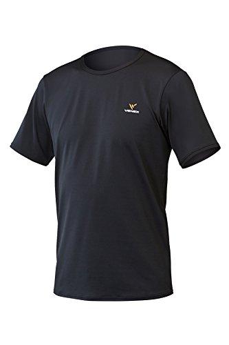 VENEX  ( ベネクス ) リカバリーウェア リフレッシュTシャツ メンズ ブラック M インナー Tシャツ 半袖 パ...